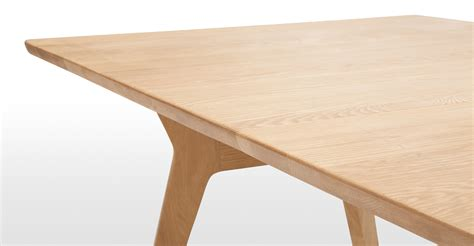 Solid Oak Extendable Dining Table Jenson Extending Dining Table Solid Oak Made