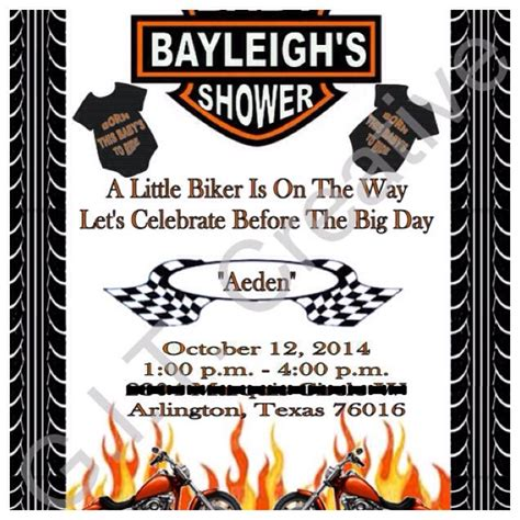 Bike For Baby Shower by Best 25 Motorcycle Baby Showers Ideas On