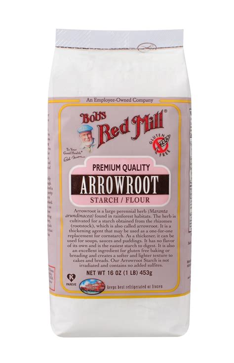 arrowroot starch bob s red mill natural foods