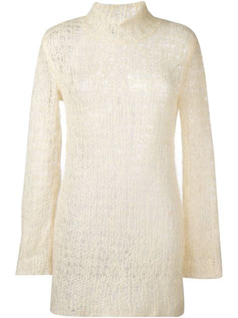 Dress Turtle Garis Garis turtle neck knit dress