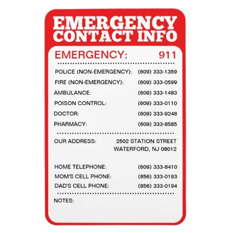 emergency contact business card template best family disaster kit tramadol emergency telephone