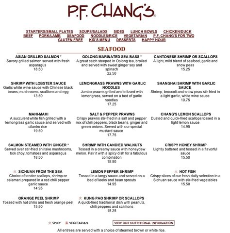 pf chang s home menu pf changs dedham lettuce roll up calorie count
