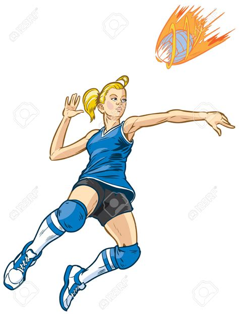 clipart pallavolo jumping clipart