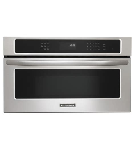 Kitchen Aid Microwaves by Kitchenaid 174 30 900 Watt Convection Built In Microwave