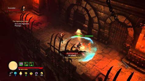 diablo 3 monk builds 2 4 ps4 diablo 3 monk gameplay ps4 youtube