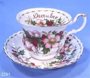 royal albert december christmas rose bone china tea cup