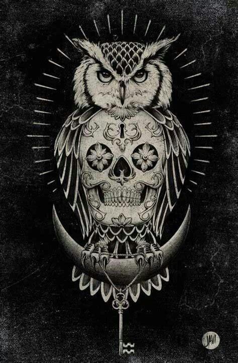 Sugar Skull Owl 1 Skull Sugar Owl Pixel Xl owl sugar skull moon key flash