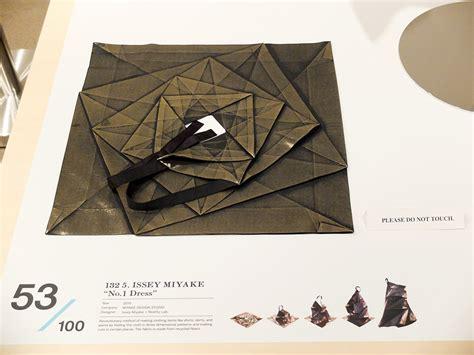 Issey Miyake Origami - issey miyake origami dress origami society of toronto