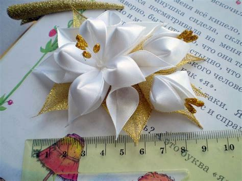 Balloonable Petal Mawar Lembaran Artificial 1734 best images about handmade flowers tutorials on kanzashi tutorial fabric