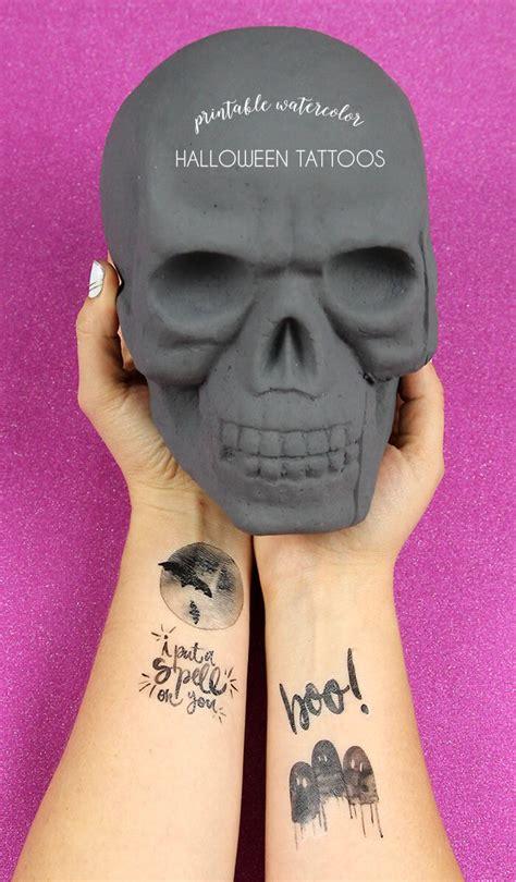 print temporary tattoos printable watercolor tattoos lou