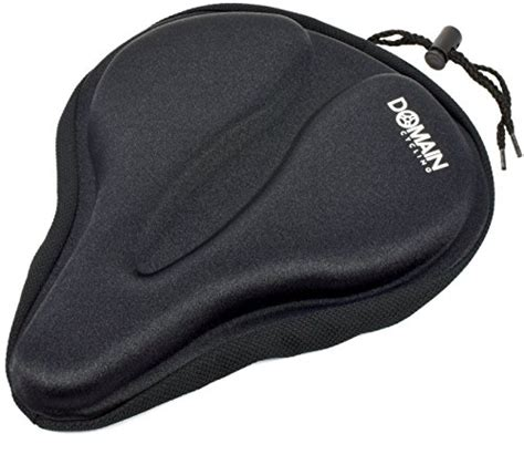 large bicycle seat cover large bicycle gel seat cover 11 5 quot x9 5 quot wide thick cushion
