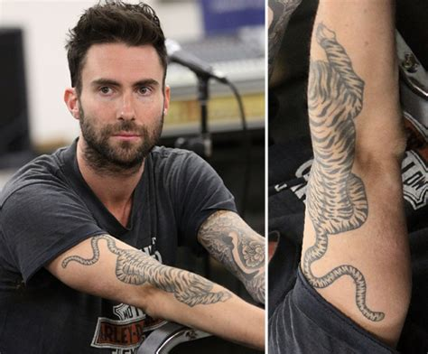 adam levine tattoo sleeve adam levine has a sleeve on his left arm and a