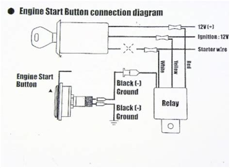 Wiring Diagram For Push Button Start Chevrolet Push Button Start Kit Ignition Engine Switch