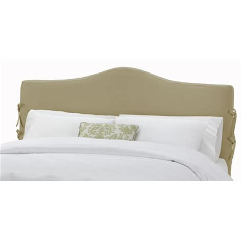 queen headboard slipcover buy slipcover upholstered headboard size queen finish