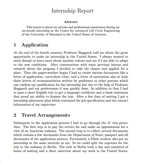 report on internship sle internship report sles 28 images sle of internship