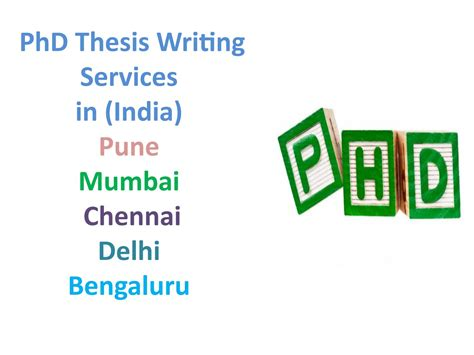 Companies Offering Mba Projects In Chennai by Professional Phd Thesis Writing Services In Pune Mumbai