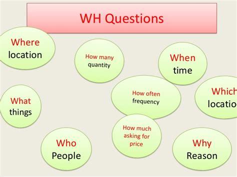ejemplos de preguntas con wh words wh questions