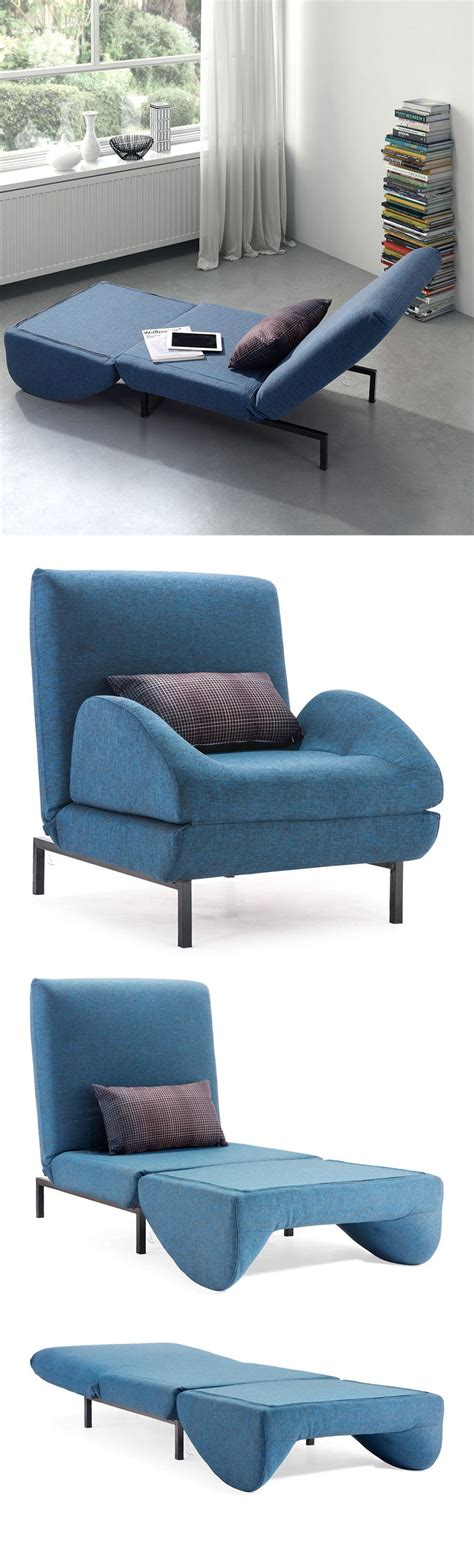 sleeper armchair blue arm chair sleeper folds out to become a twin