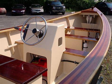 wooden skiff  yamaha power price reduced