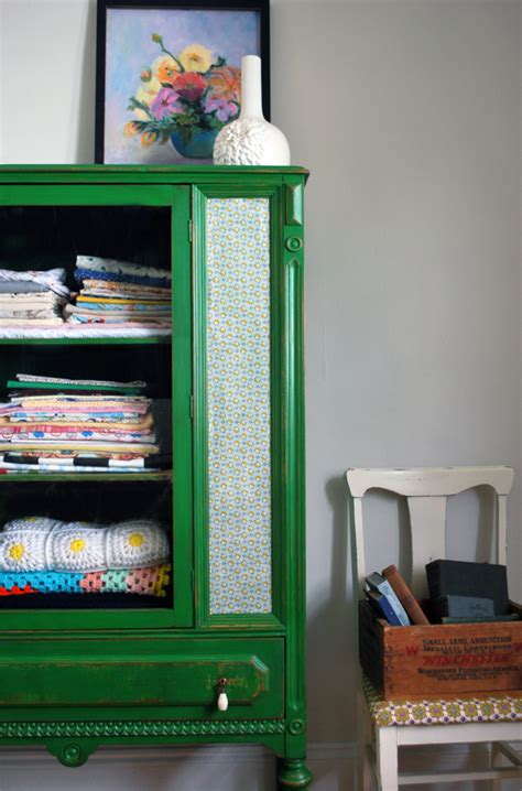 How To Modge Podge A Dresser by Wednesday S Want This Look Style File Fabric Furniture