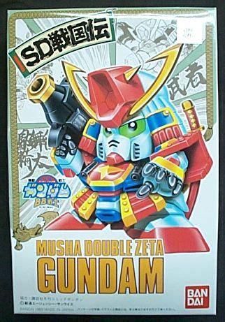 Bb 26 Musha Zeta Gundam Item 雷鳥鋼彈模型 bb戰士26號 musha zeta gundam 缺貨