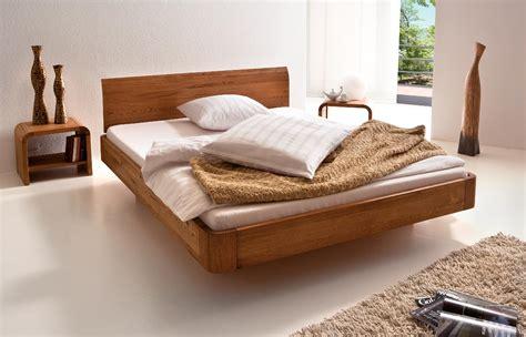 wooden futon hasena oakline airon lisio solid oak floating modern bed