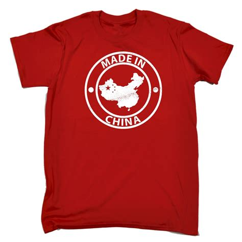 T Shirt I China made in china t shirt asia sarcastic top