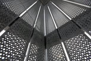 metal curtain wall perforated metal curtain wall graepel perforators