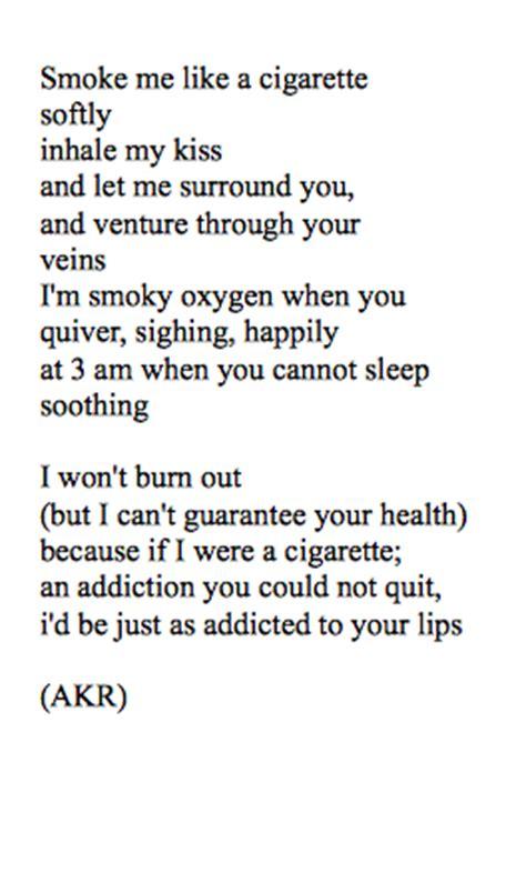 tion poem bad habit poem by ace of black hearts poetry addict Addi