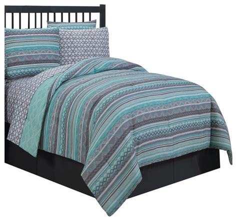 avondale manor meridian 8 piece bed in a bag set