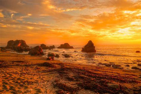 Landscape Pictures Of Sunset Sunset Sea Landscape Wallpaper 2304x1536