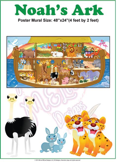 personalized wall murals personalized wall mural noah s ark