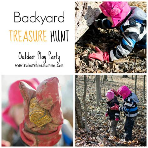 backyard treasure hunt backyard treasure hunt rain or shine mamma