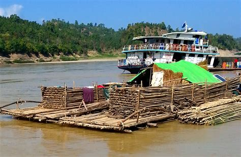 bamboo boat chindwin river part ii sometimes a great notion bamboo