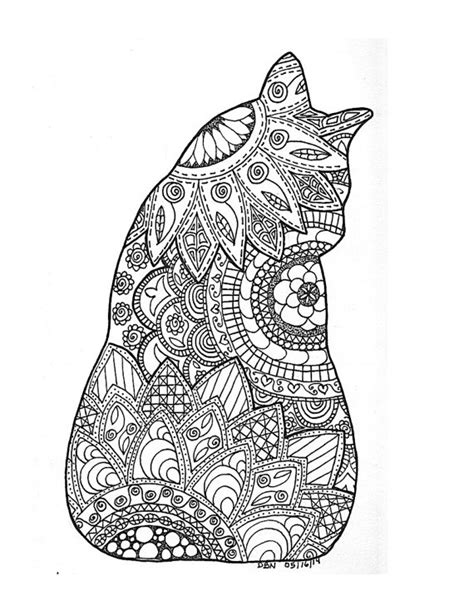 coloring pages with multiple animals adult colouring pageoriginal digital by darlene b nemeth