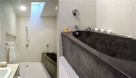 concrete bathtub diy concrete bathtubs bath better living through design
