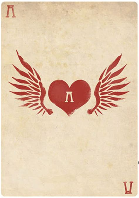 ace of hearts tattoo cards felix blommestijn iconology