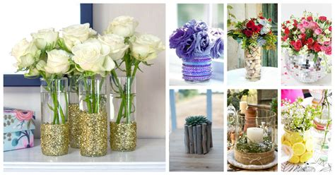 how to decorate your plain glass vase and make it look