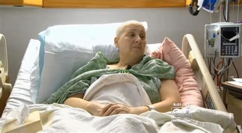 cancer woman in bed ill employer fires woman after learning she has cancer