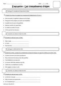 Essayer Verbe Irregulier by Compl 233 Ments D Objet Cod Coi Cos Cm1 Evaluation Pass Education Edl