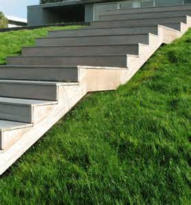 Wood Outdoor Stairs Design Shwa Stairs Brick Steel And Wood Stairs