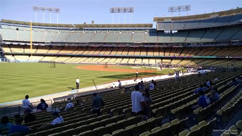 What Is Section 47 by Dodger Stadium Section 47 Rateyourseats