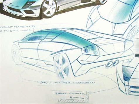 Lamborghini Murcielago Sketch picture # 13 of 18, Design