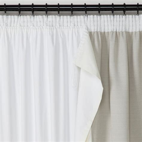 how to attach blackout liner to curtains blackout curtain liner more than just light blocker
