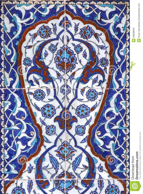 tile decoration tile wall decoration of rustem pasha mosque istanbul