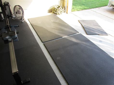 Matting Flooring by Working With Securing Stall Mats In A Garage