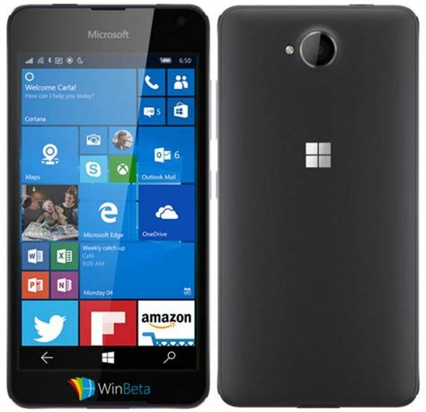 nokia lumia microsoft mobile microsoft lumia 650 dual sim features specifications details