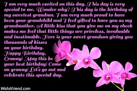 Happy Birthday Wishes For A Grandmother Birthday Wishes For Grandmother Page 1