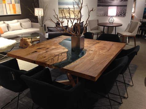 chairs for live edge table live edge dining room table thetastingroomnyc com