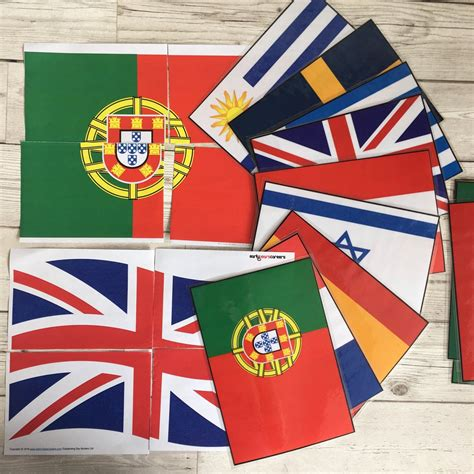 flags of the world early years flag puzzles and flags from around the world piggledots